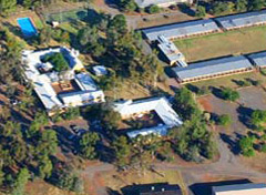 Aerial view of MRSC campus