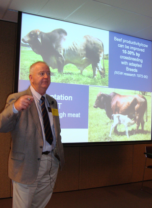I&I NSW's Mr Bill McKiernan, Meat Industry, Research Leader Animal Production.