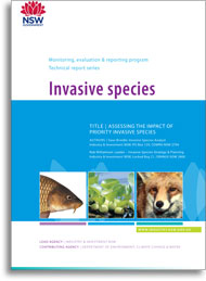 Assessing the impact of priority invasive species - cover