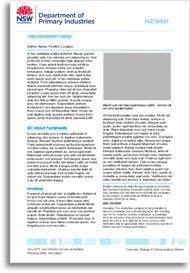Factsheet cover image