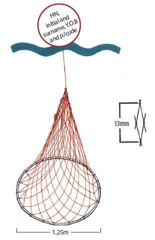 Hoop net diagram