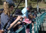 Recreational fishing workshop