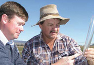The 'Key Sites' project will allow land managers to better understand salinity