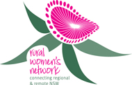 RWN logo: Connecting regional and remote NSW