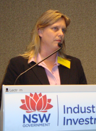 Dr Lisa Szabo, Chief Scientist, NSW Food Authority.