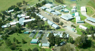 Aerial view of Tamworth Agricultural Institute