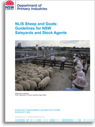 NLIS sheep and goats guidelines