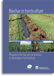 Biochar in horticulture cover