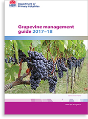 Cover of the grapevine management guide