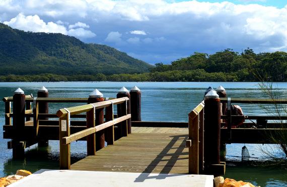fishing platform Dunbogan
