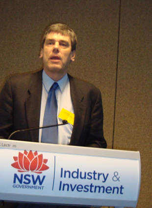 Dr Christian Roth, CSIRO Sustainable Ecosystems.