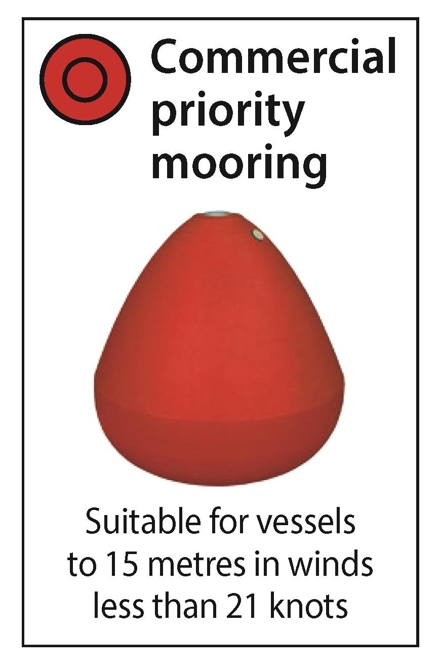 Cook Island Aquatic Reserve Commercial Mooring Buoy