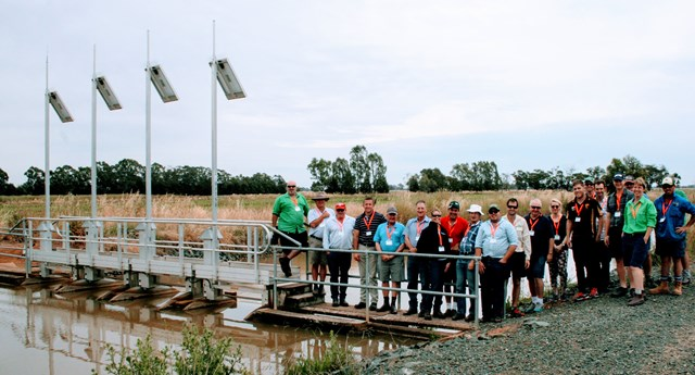 Irrigators on the 2016 Smarter Irrigation Technology Tour