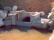Figure 6. Dropboard culvert (Photo: Rob Lloyd)