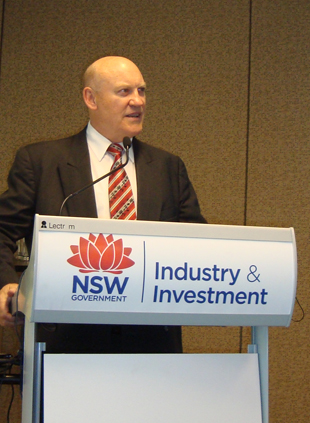 NSW Minister for Primary Industries, Ian Macdonald MLC.