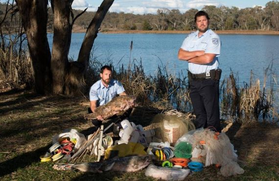 Fishing Gear seized from the New England area