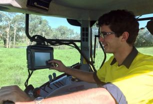 Driverless tractor technology