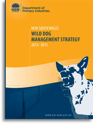 Wild Dog Management Strategy - cover
