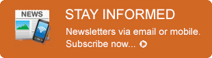 Stay informed button takes you to the subscribe page for this newsletter.