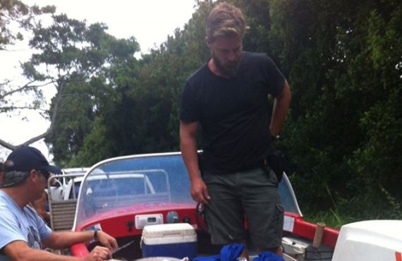 Boat seized from Hastings River