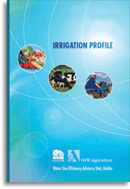 Irrigation profiles cover
