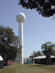 Bureau of Meteorology weather radar located at Grafton PII