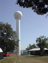 Bureau of Meteorology weather radar located at Grafton PII