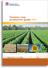 Summer crop production guide