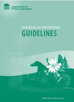 NSW Weeds Action Program - guidelines for applying for funds