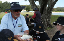 Botany Bay leader volunteer, Bob