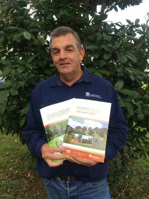 Jeremy Bright, DPI Macadamia Development Officer