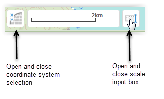 Scale and coordinate system