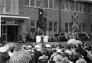 Opening of the Agricultural Research Institute, October 1954