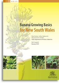 Cover of Banana Growing Basics for New South Wales