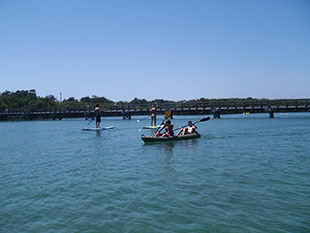 Kayaking and paddleboard
