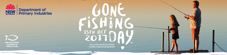 Gone fishing day, 15 October 2017