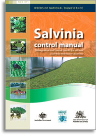 Cover of Salvinia control manual