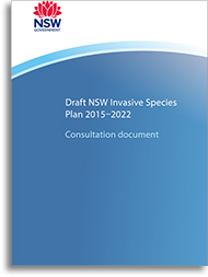 Cover of 'NSW Invasive Species Plan 2008-2015