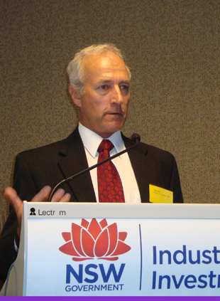 Mr John Oliver, Grains Industry, I&I NSW Research Leader Farming Systems South.