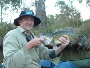 Rodney Price with a beaut Murray  cod