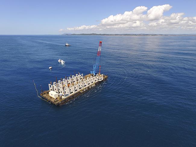 Port Macquarie reef deployment