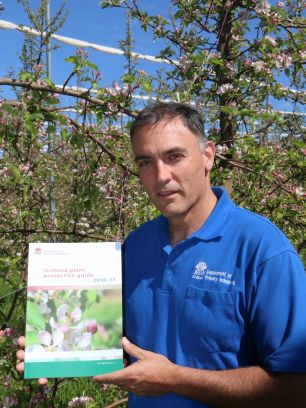 Orchard plant protection guide