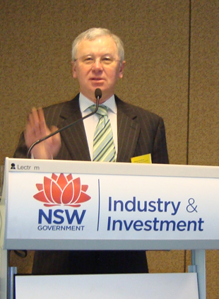 Dr Richard Sheldrake, Director-General, I&I NSW.