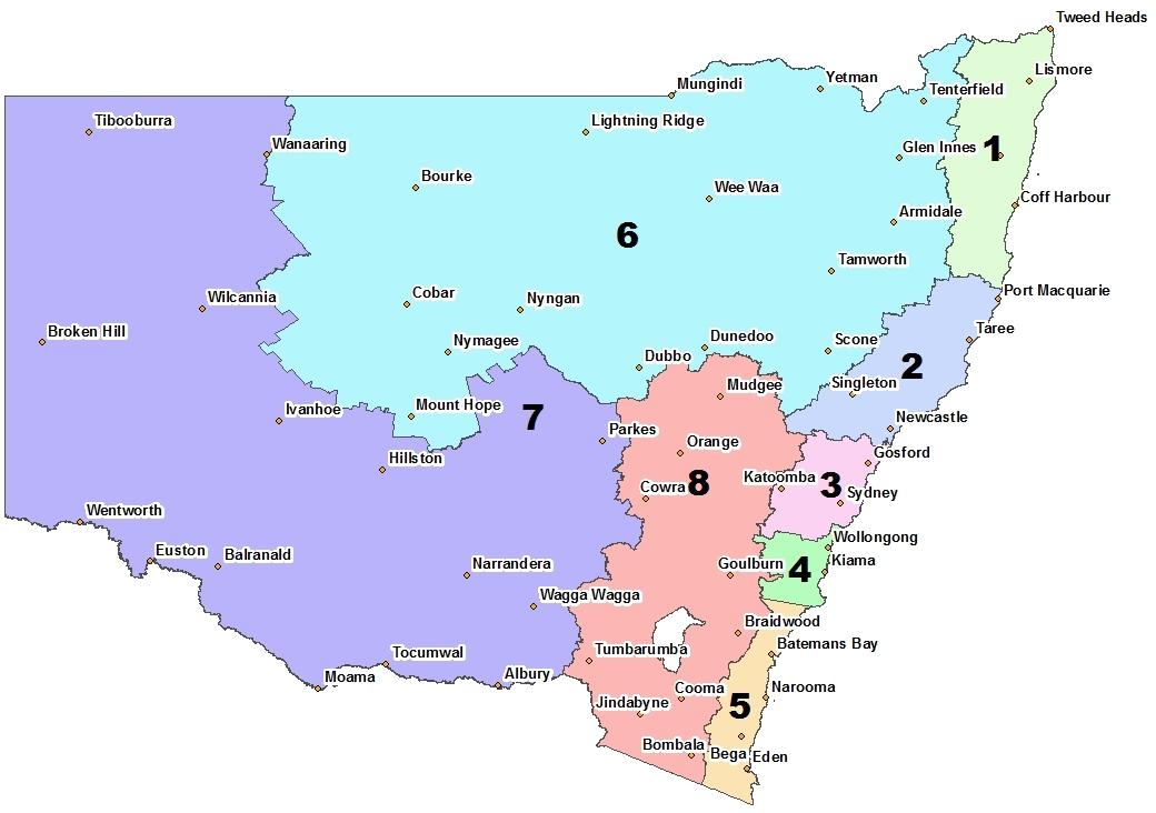 RFNSW regions map