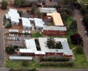 Wagga Wagga Agricultural Institute aerial view