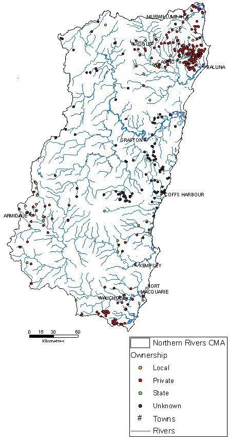 Northern Rivers CMA - Weirs