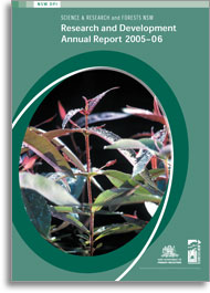Cover of the Primary Industries Science & Research and Forestry Corporation of NSW Research and Development Annual Report 2005-06