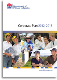 NSW DPI Corporate Plan cover