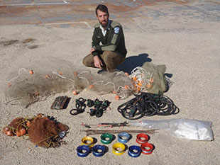 Illegal fishing gear seized from North Western NSW