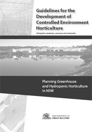 Guidelines for controlled environment horticulture cover